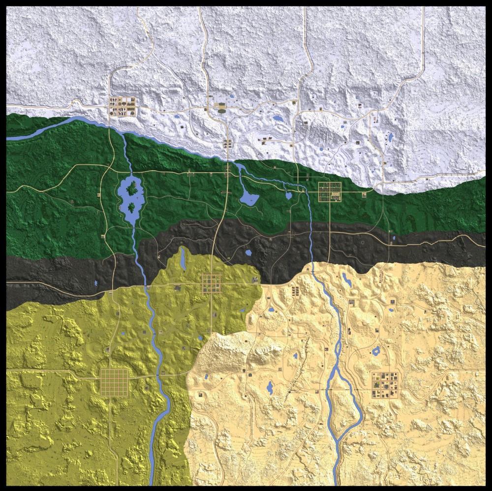 mapa de navezgane para 7DTD