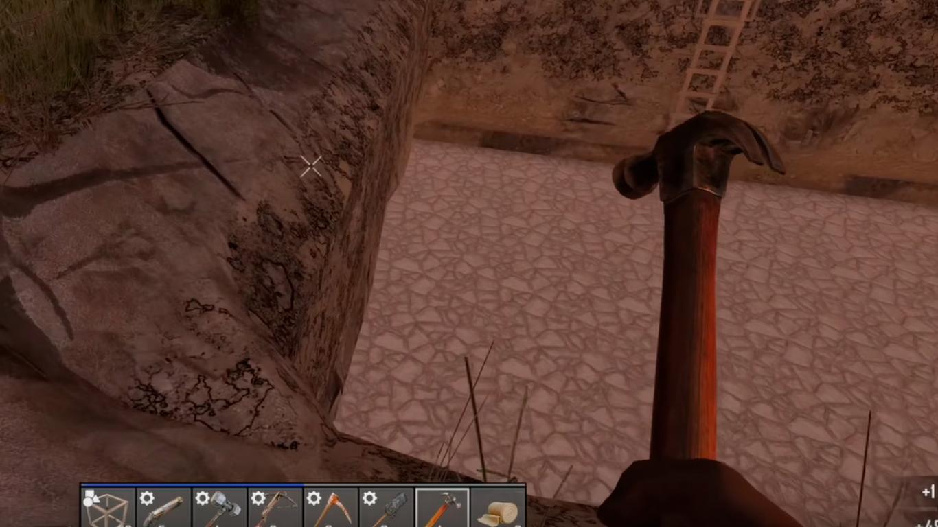 gameplay 7d2d martillo